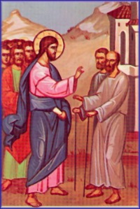 two blind men icon